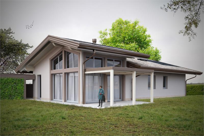 villa legno 160.0 #1
