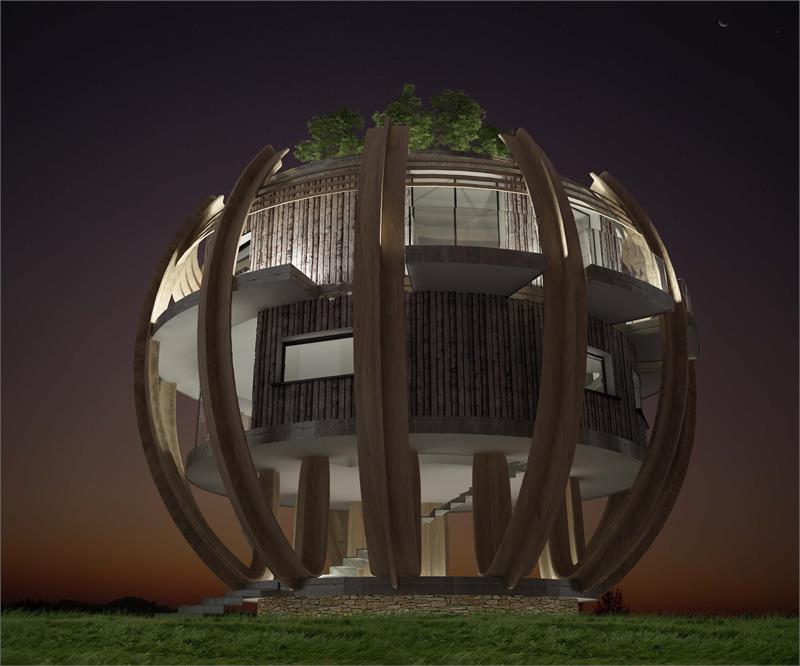 villa sfera  #2
